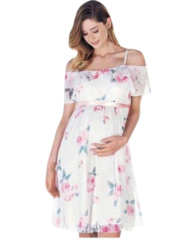 3d890213df Chantel Maternity Party Baby Shower Dress – Maternity Super Store